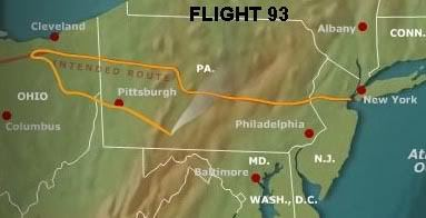 flight93route