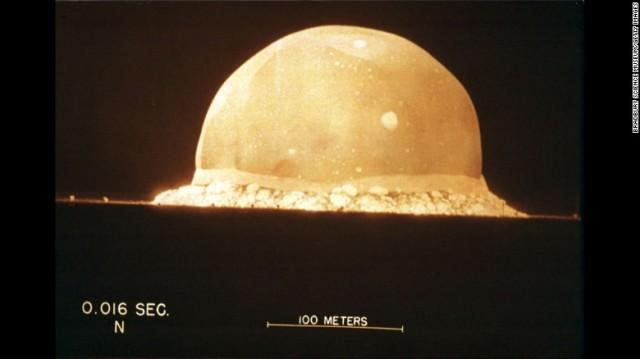 size of fireball 100m