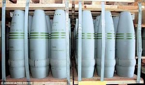 sarin shells