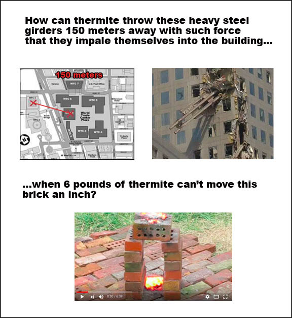 thermite and brick